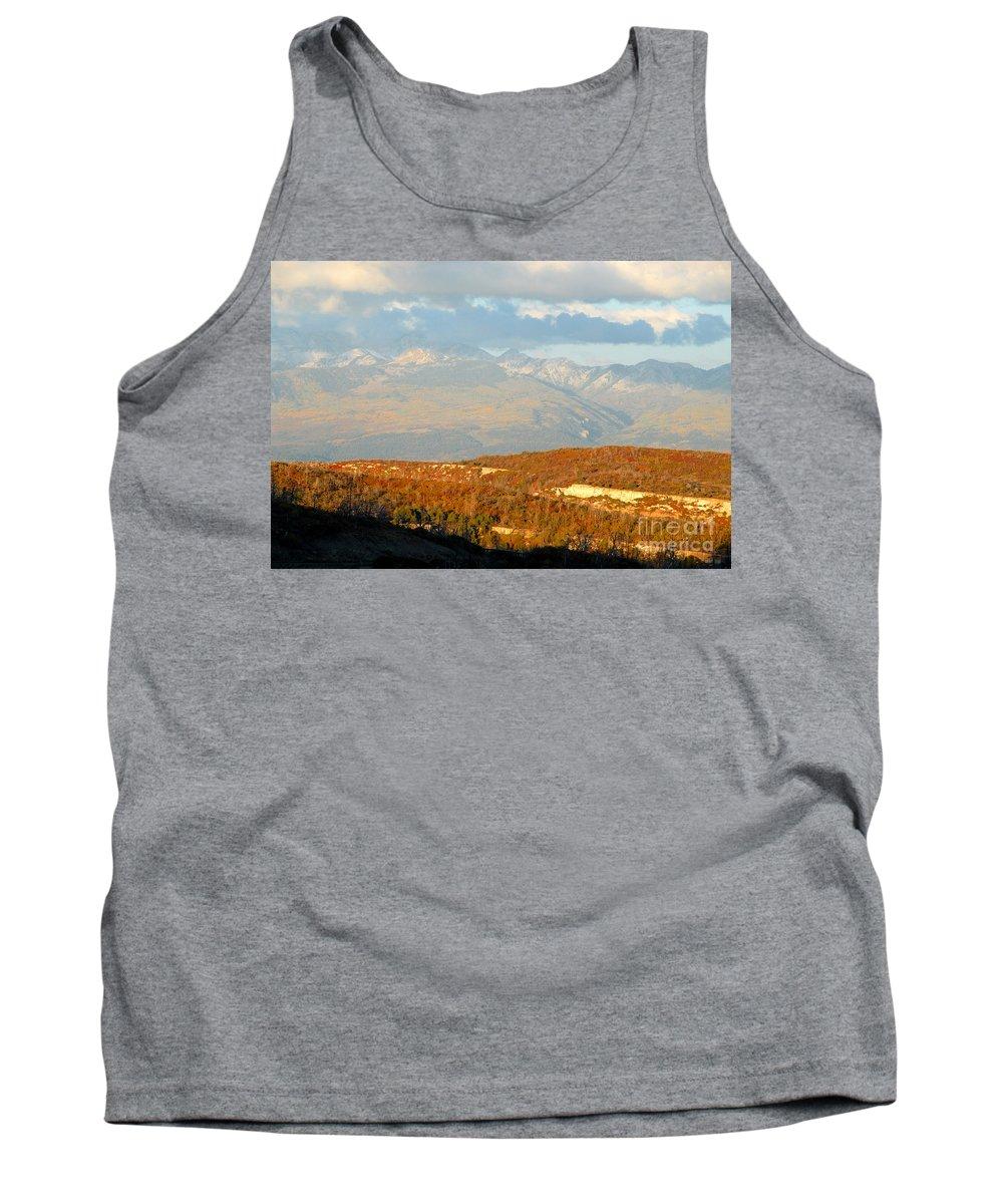 San Juan Mountains Colorado Tank Top featuring the photograph San Juan Mountains by David Lee Thompson