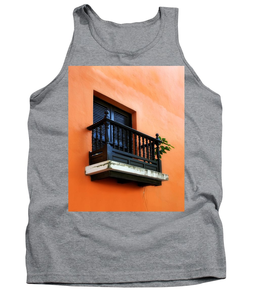 Window Tank Top featuring the photograph San Juan Window by Perry Webster