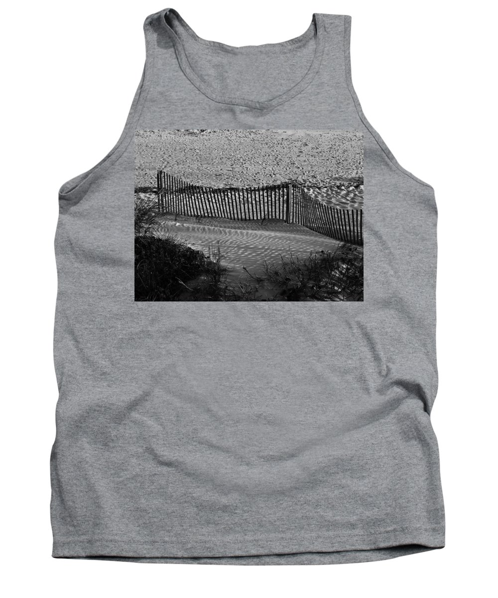 Ocean Tank Top featuring the photograph Sand And Shadows by Teresa Mucha