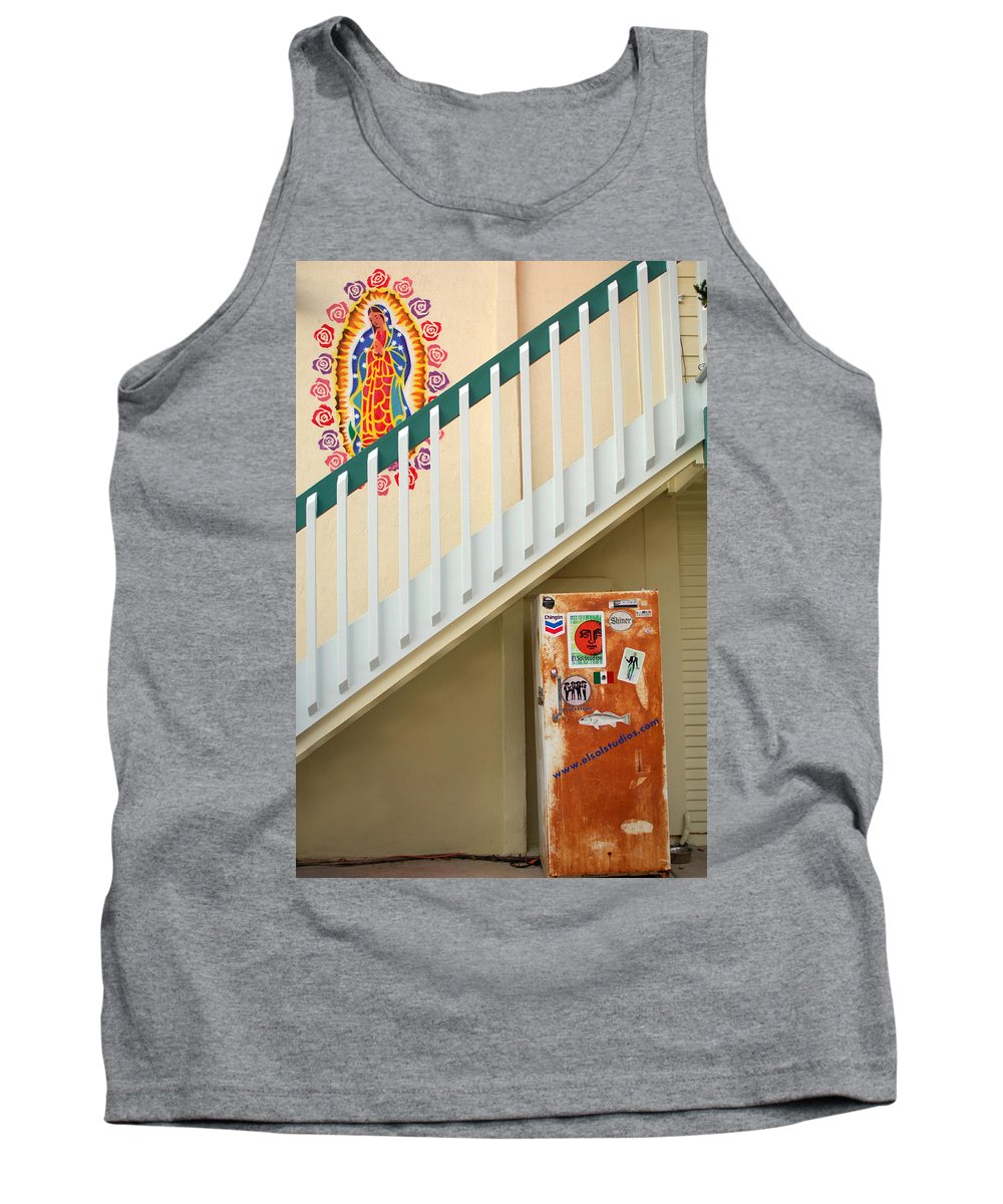 Urban Tank Top featuring the photograph Saying Grace by Jill Reger