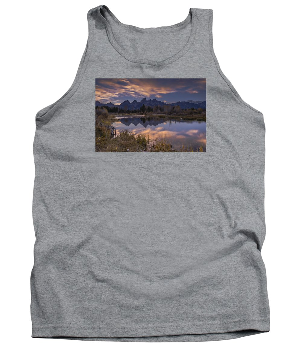 White Tank Top featuring the photograph Schwabacher's by Luis A Ramirez