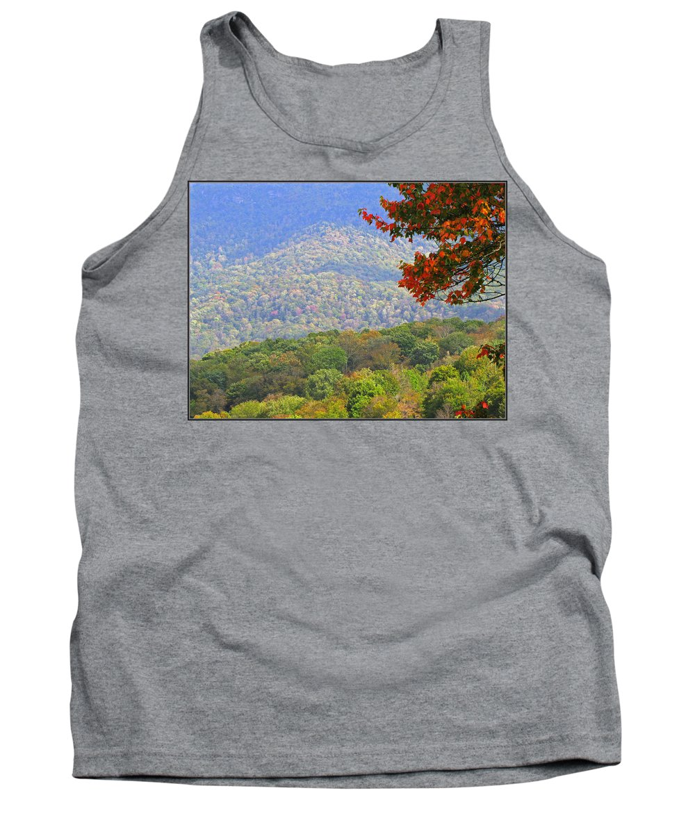 Fall Tank Top featuring the photograph Seasonal Color by Gary Adkins