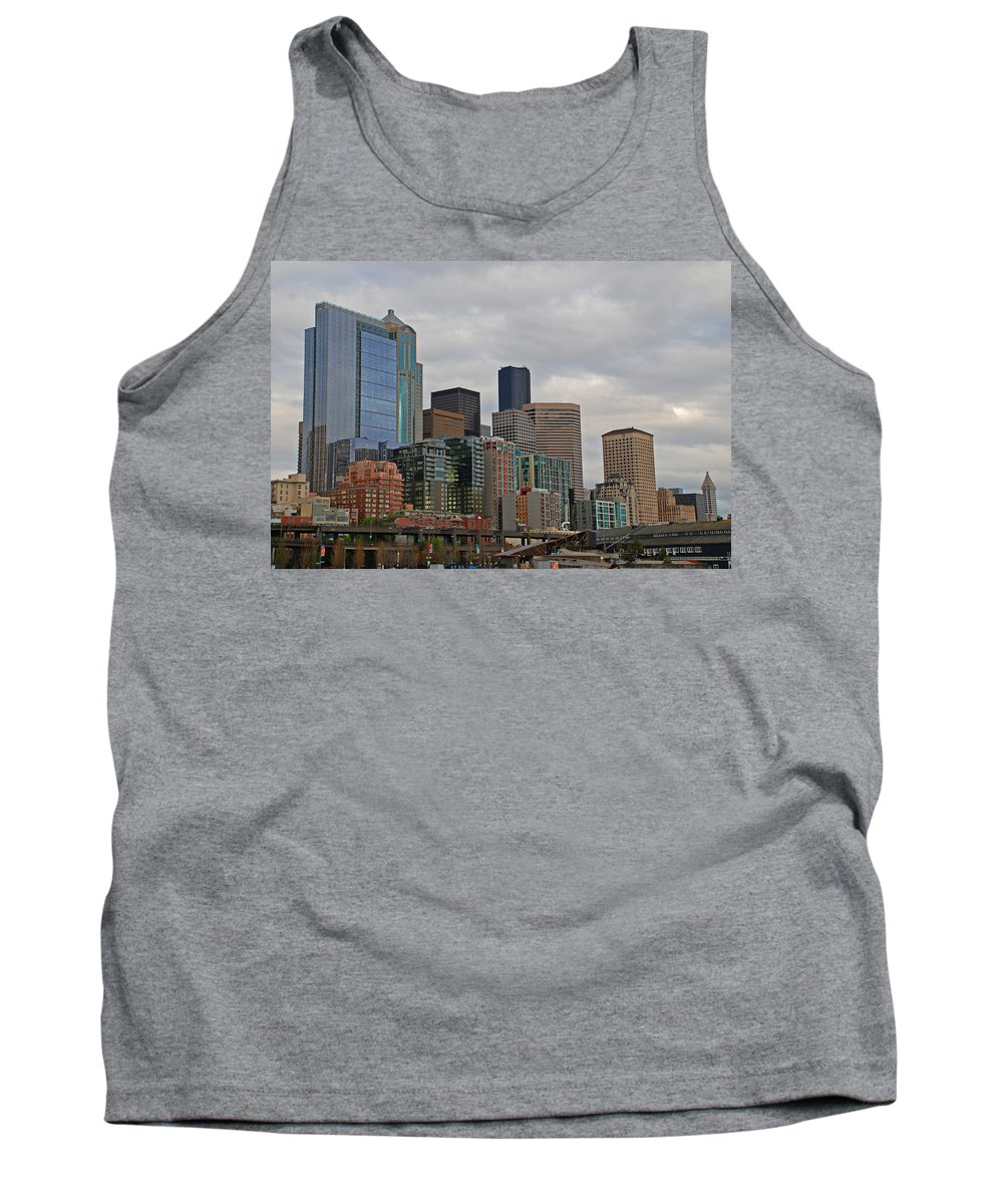 Seattle Tank Top featuring the photograph Seattle by Carol Eliassen