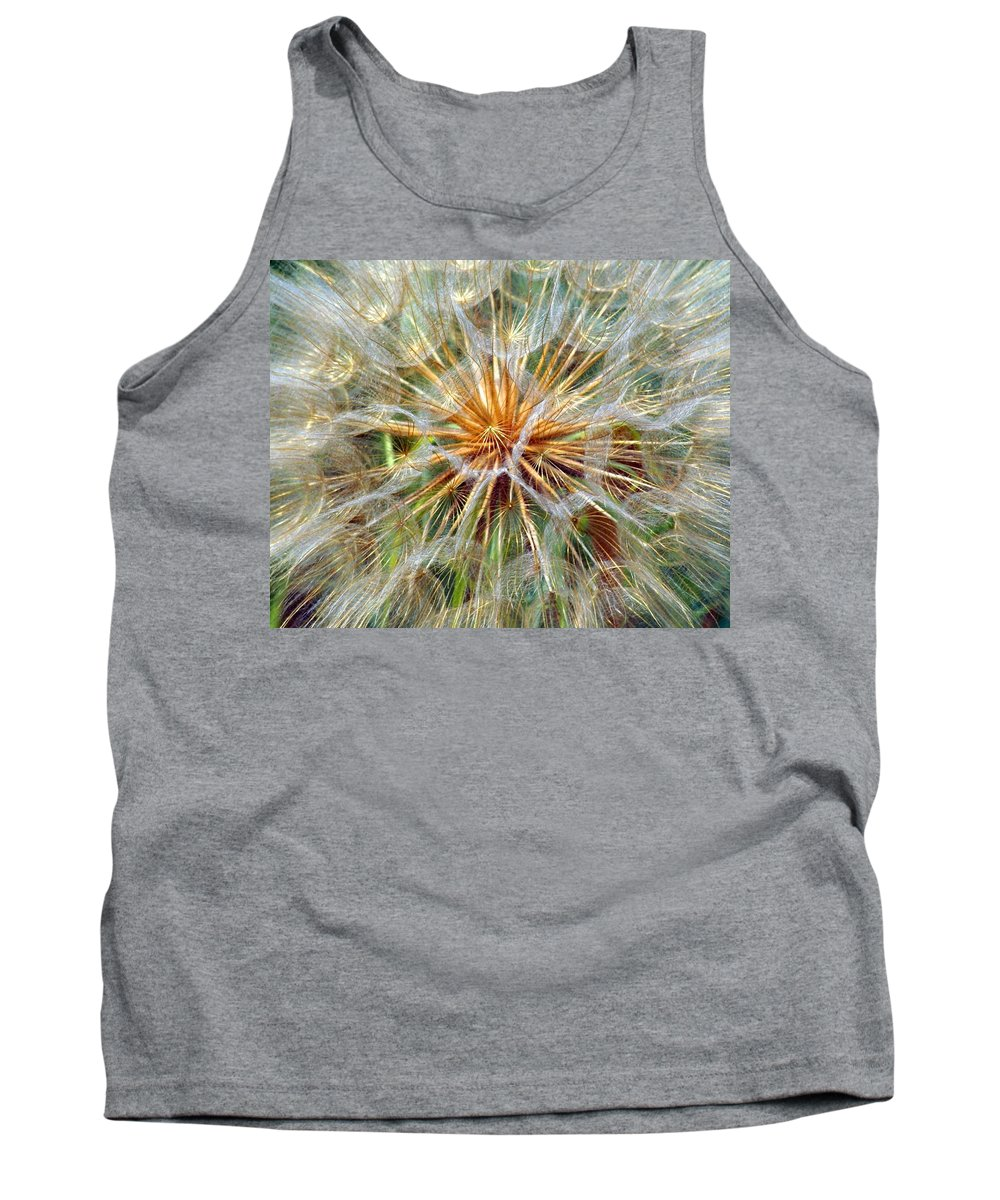 Wildflower Tank Top featuring the photograph Seeds by Marty Koch