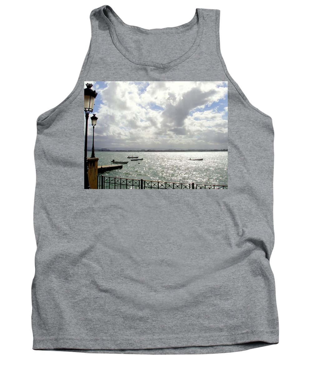 Seaside Tank Top featuring the photograph Serene by Deborah Crew-Johnson