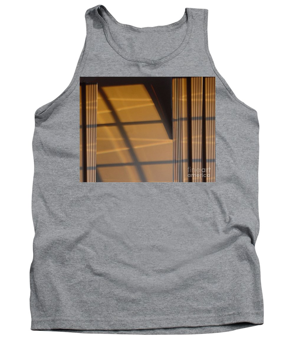Windows Tank Top featuring the digital art Shadows by Ron Bissett