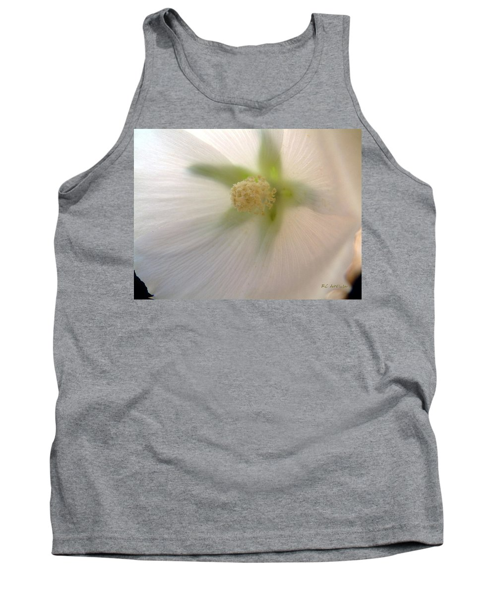 Blossom Tank Top featuring the photograph Shimmer by RC DeWinter