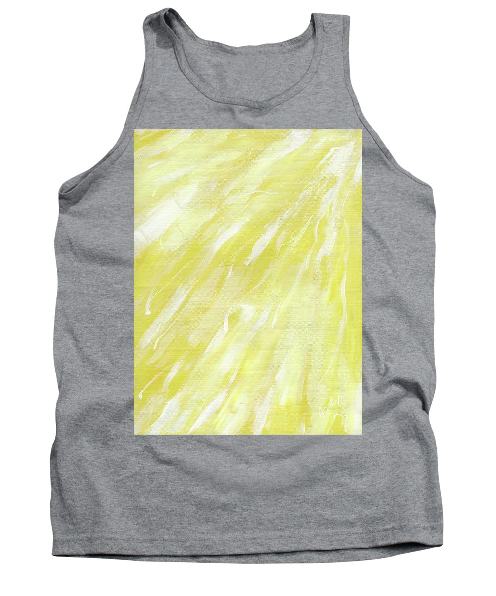 Tank Top featuring the painting Shine Down #32 by Arolyn Krzynowek