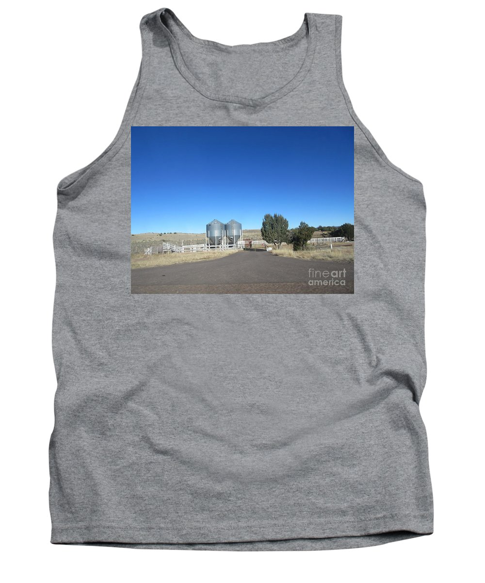 Shumway Tank Top featuring the photograph Shumway Corral by Frederick Holiday