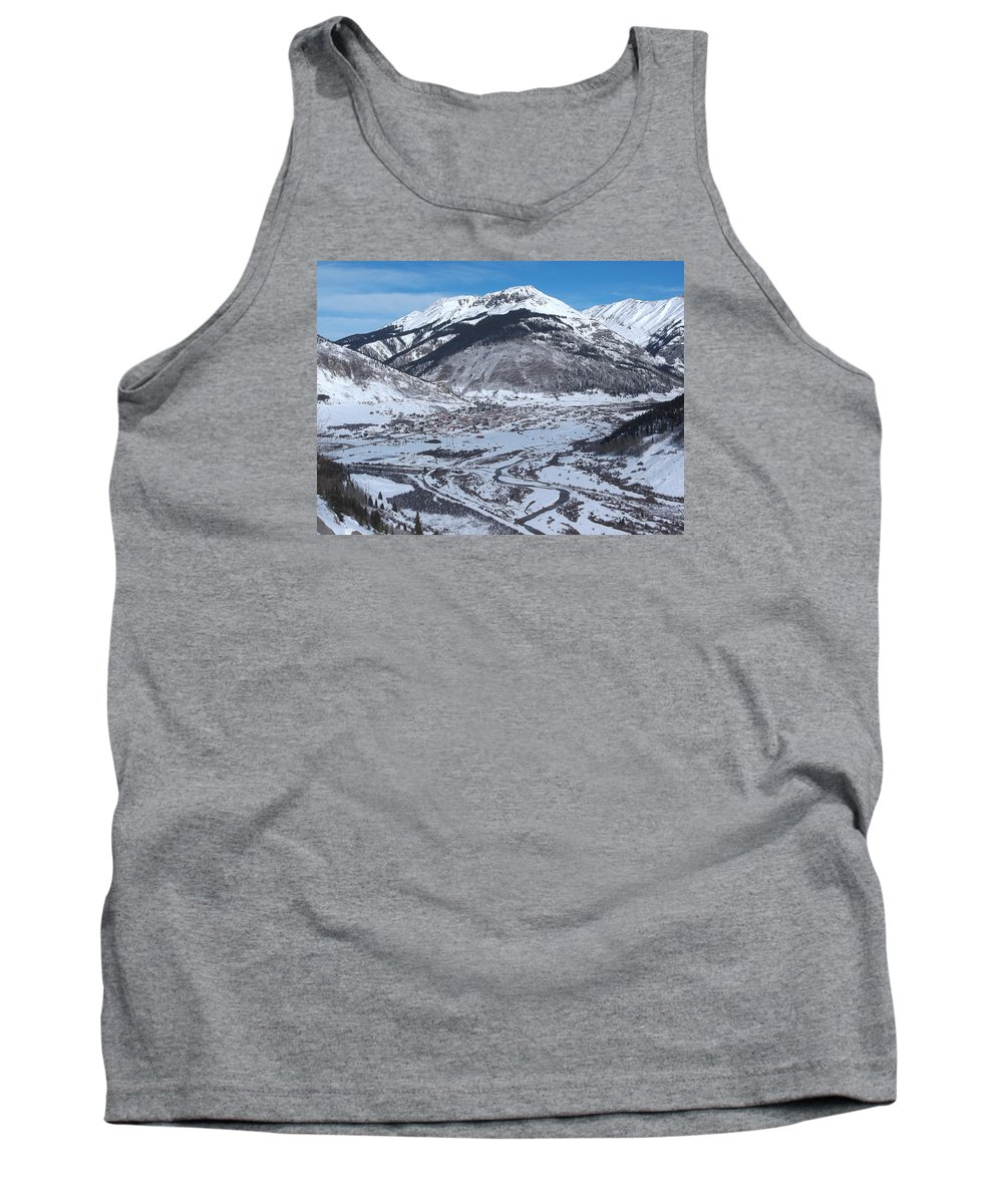 Tank Top featuring the photograph Silverton Outlook by Curtis Willis