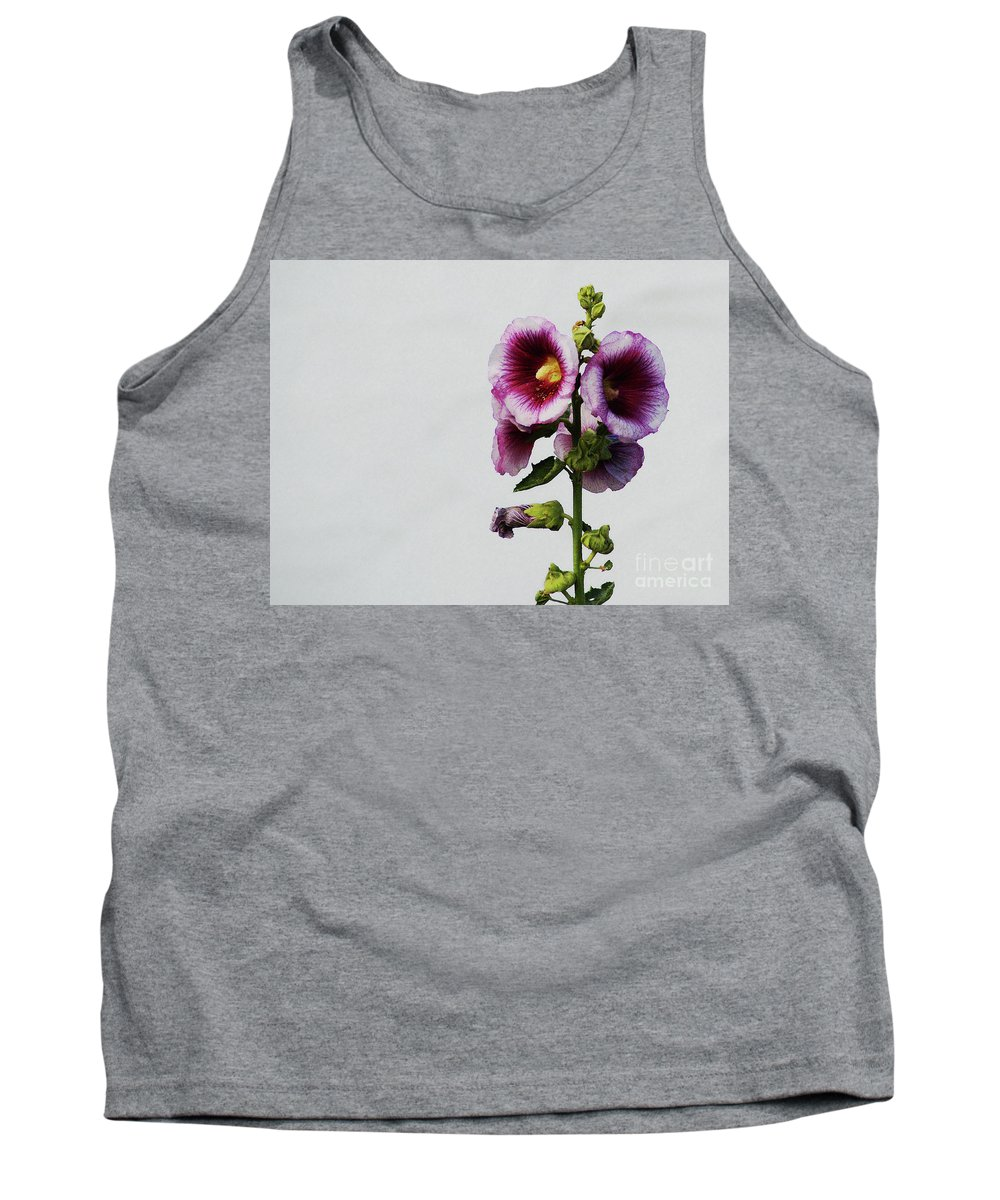 Flower Tank Top featuring the photograph Simply Stated by Linda Shafer