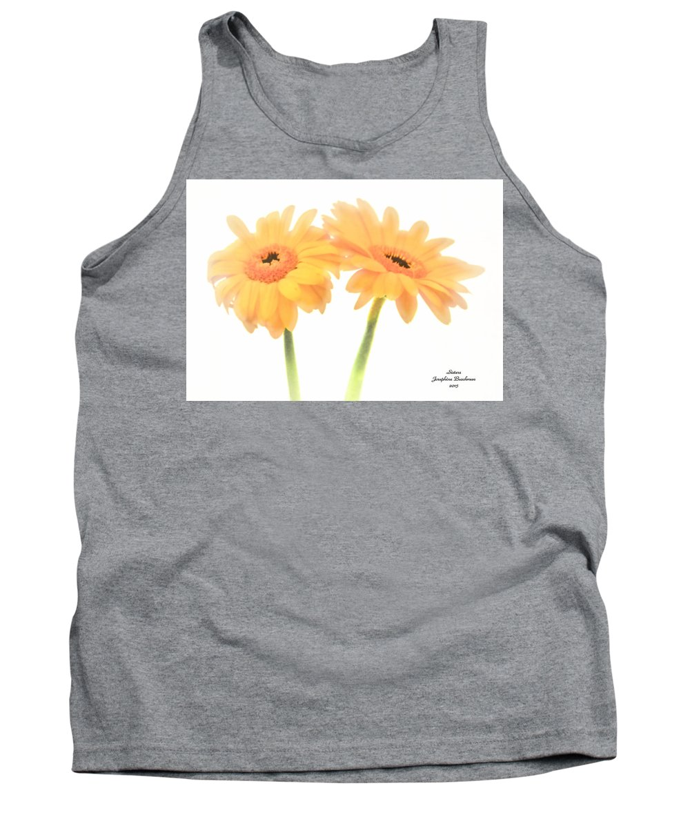 Flowers Tank Top featuring the photograph Sisters  4242 by Josephine Buschman