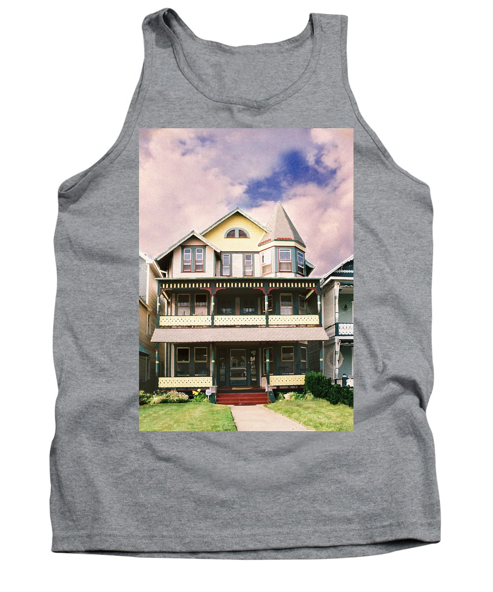 Landscape Tank Top featuring the photograph Sisters Panel Three Of Triptych by Steve Karol