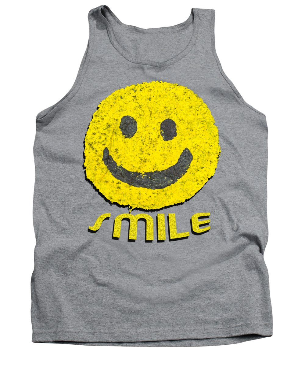 Smiley Faces Tank Tops