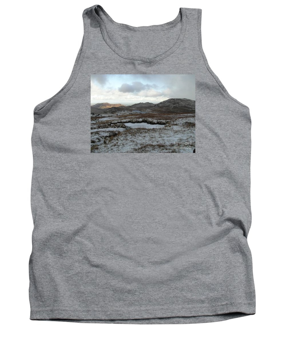 Snowdonia Tank Top featuring the photograph Snowdonia, Wales by Quintin Rayer