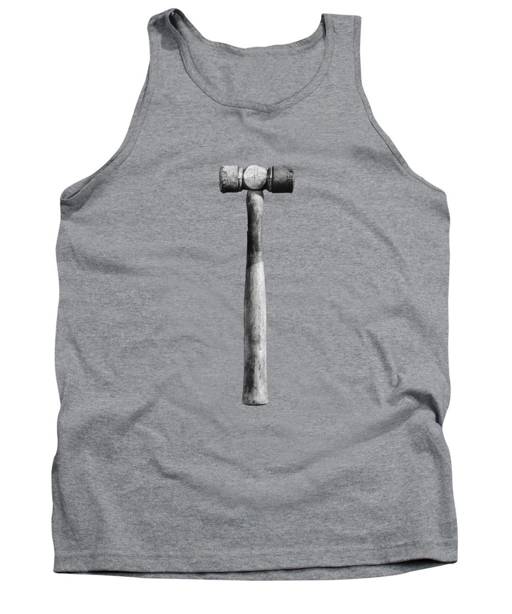 Black Tank Top featuring the photograph Soft Face Hammer by YoPedro