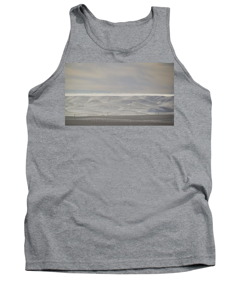 Winter Tank Top featuring the photograph Soft Glow by Kellie Prowse