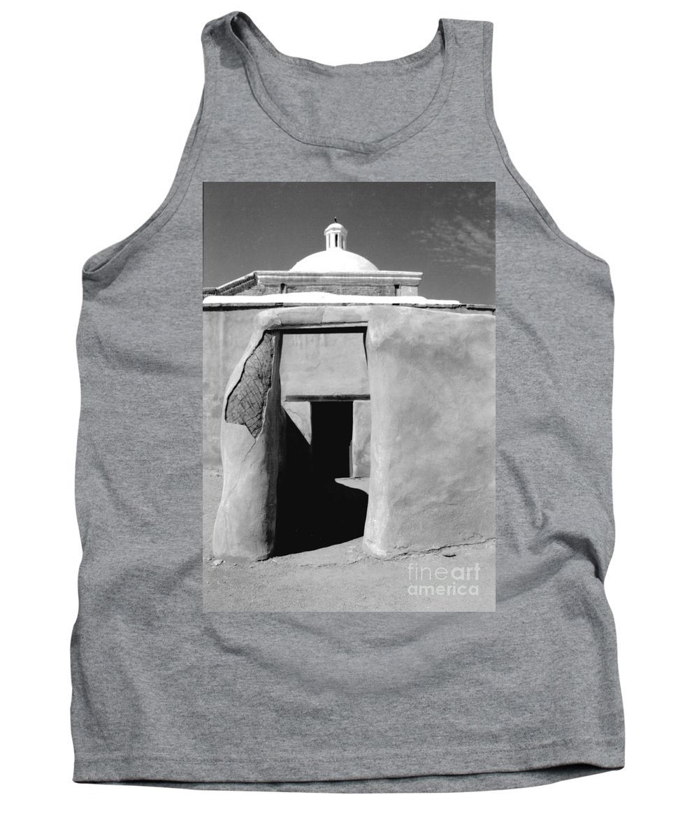 Shadows Tank Top featuring the photograph Sol Y Sombra by Kathy McClure