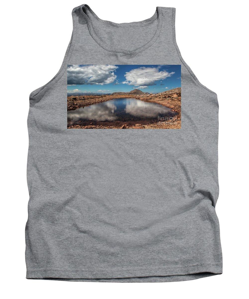 Mt. Evans Landscape Tank Top featuring the photograph Solar Landscape by Jim Garrison