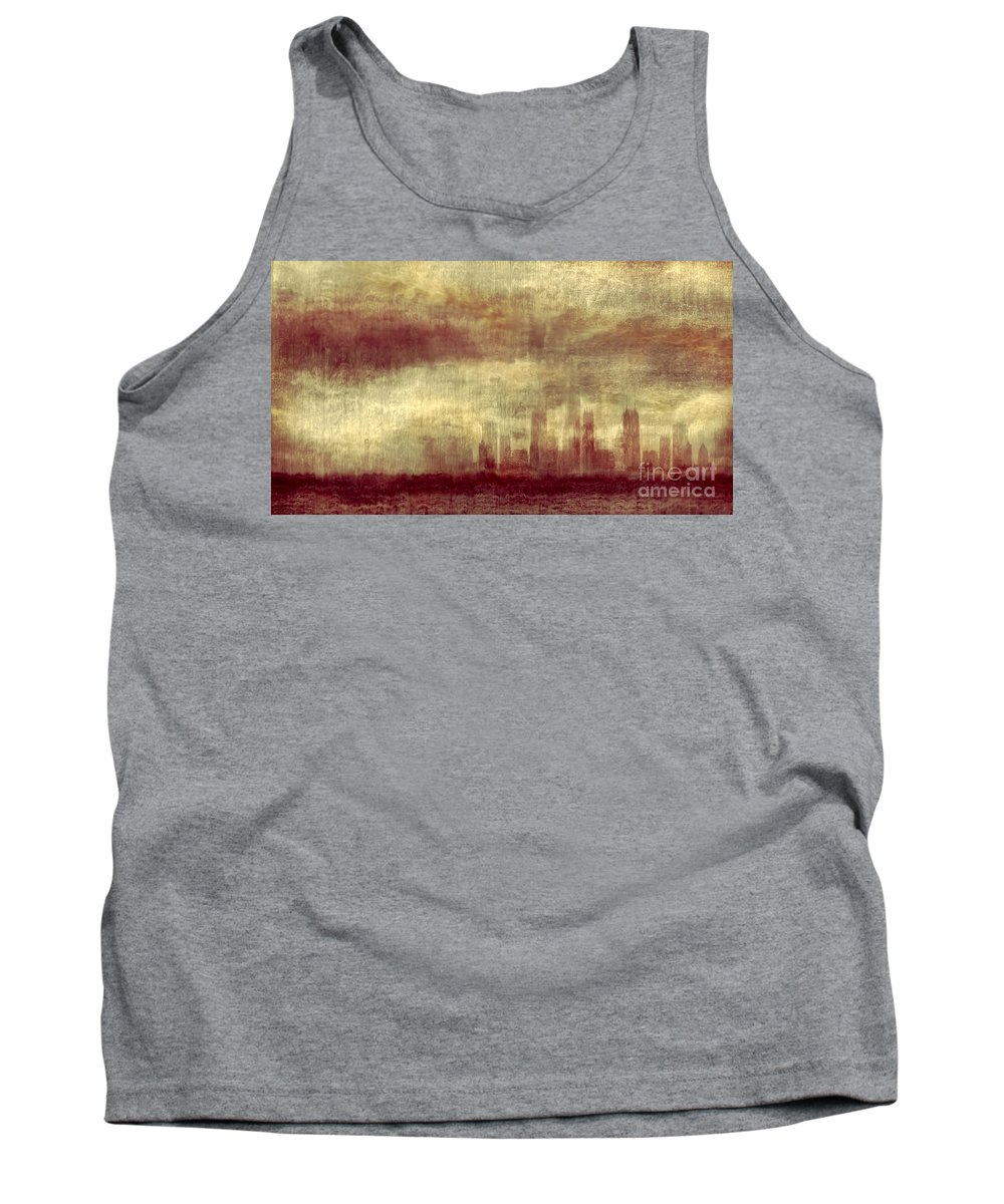Clouds Tank Top featuring the photograph Someone To Hold You Beneath Darkened Sky by Dana DiPasquale