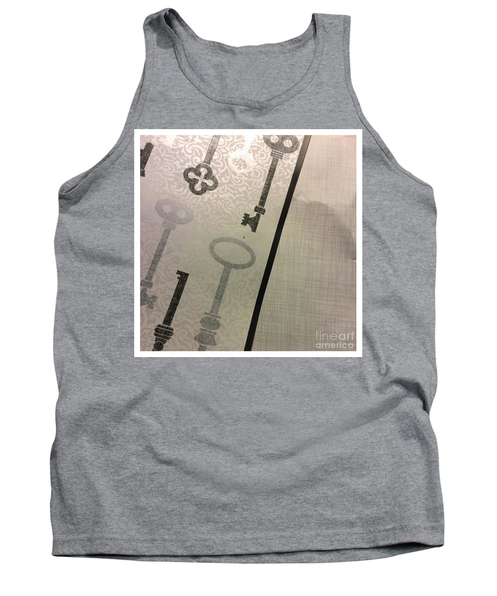 Abstract Tank Top featuring the photograph Something Cool by Alwyn Glasgow