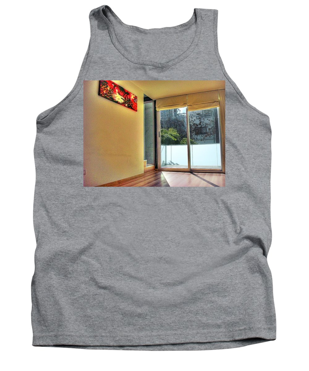 Wall Tank Top featuring the photograph Spaces by Francisco Colon