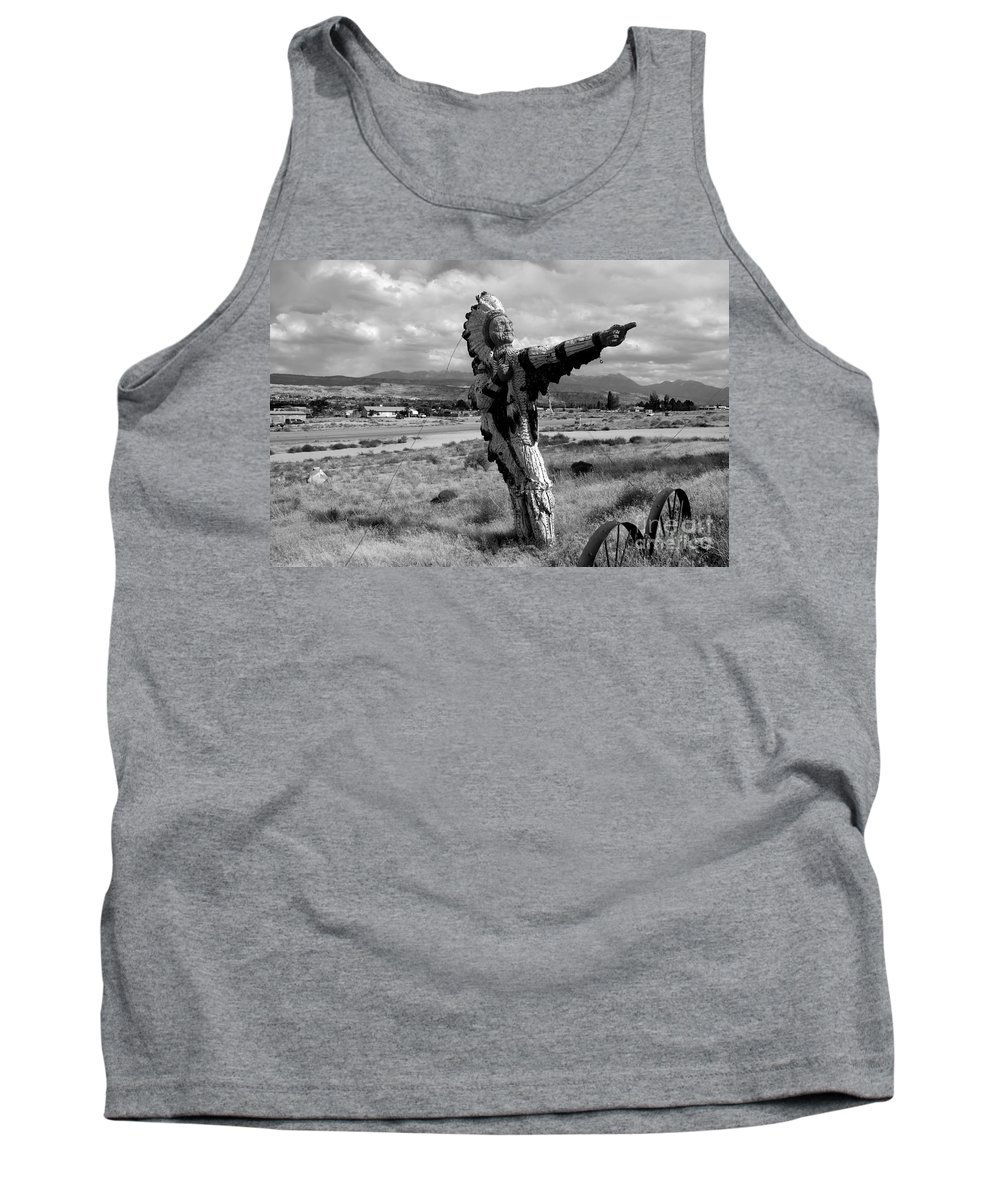 Moab Utah Tank Top featuring the photograph Spanish Valley Indian by David Lee Thompson