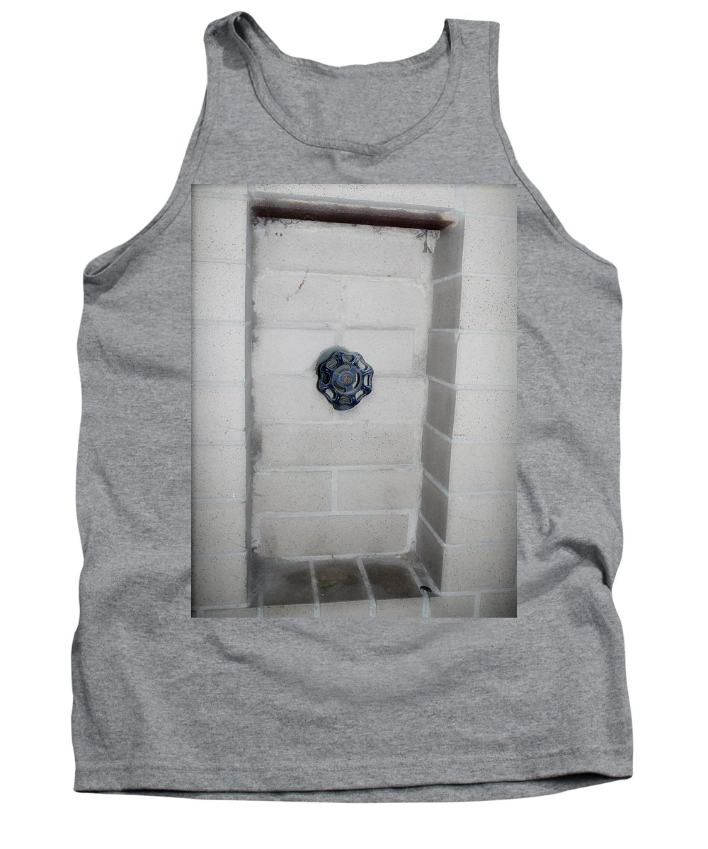 Color Photograph Tank Top featuring the photograph Spicket by Thomas Valentine