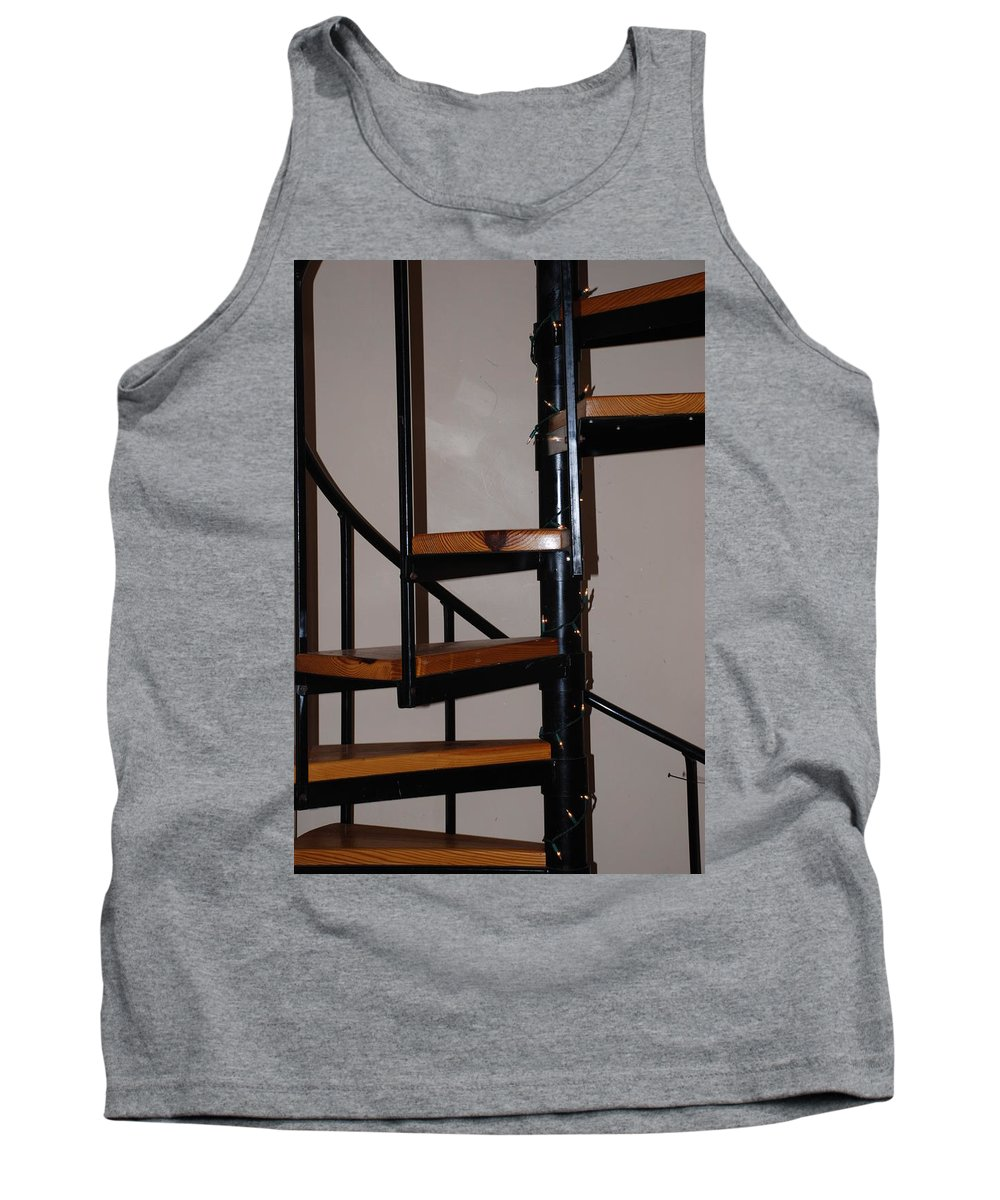 Stairs Tank Top featuring the photograph Spiral Stairs by Rob Hans