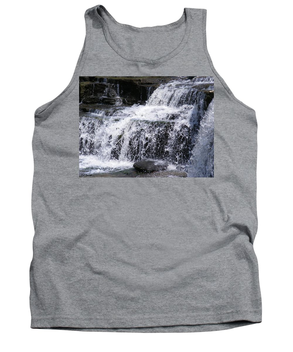 Splash Tank Top featuring the photograph Splash by Ed Smith