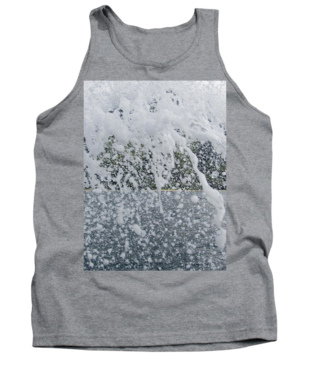 Tank Top featuring the photograph Splash by Ryan Crandall