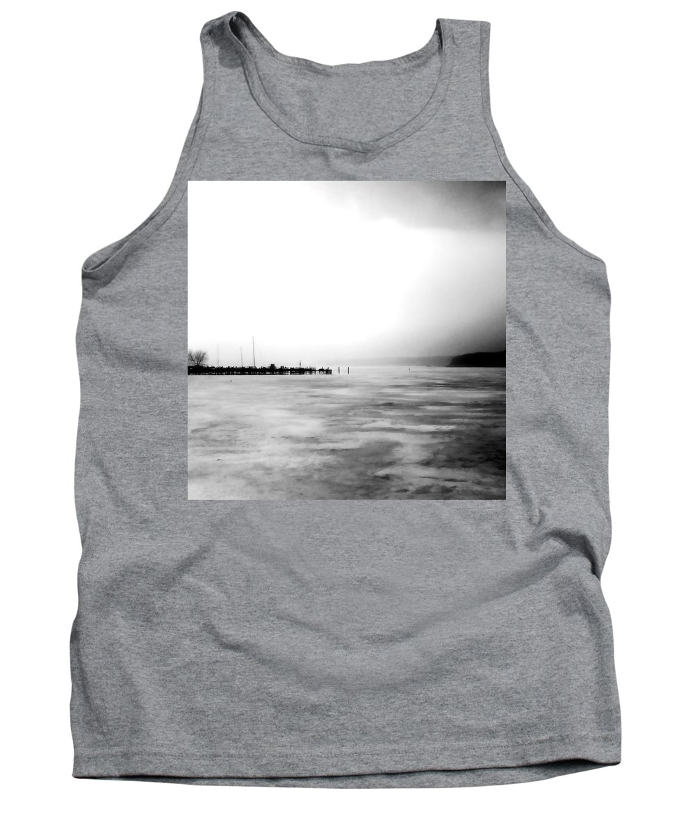 Lake Tank Top featuring the photograph Spring Thaw by Michelle Calkins