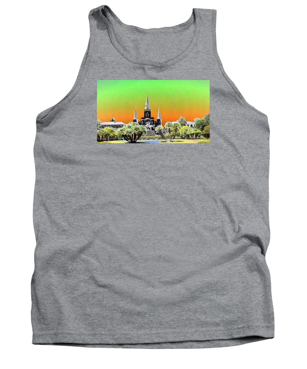 New Orleans Tank Top featuring the photograph St. James Cathedral New Orleans by Kevin Flynn