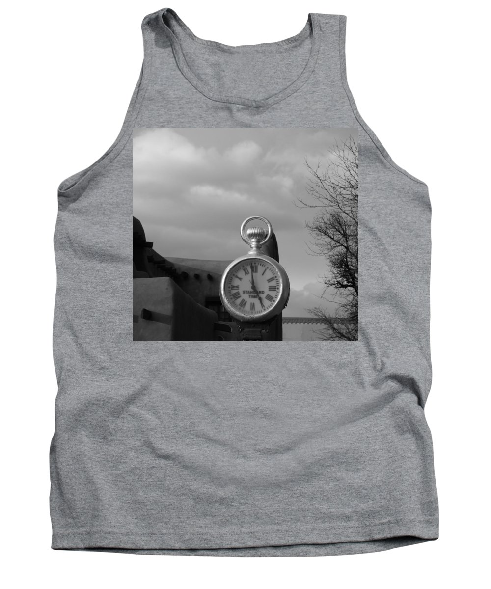 Black And White Tank Top featuring the photograph Standard Time by Rob Hans