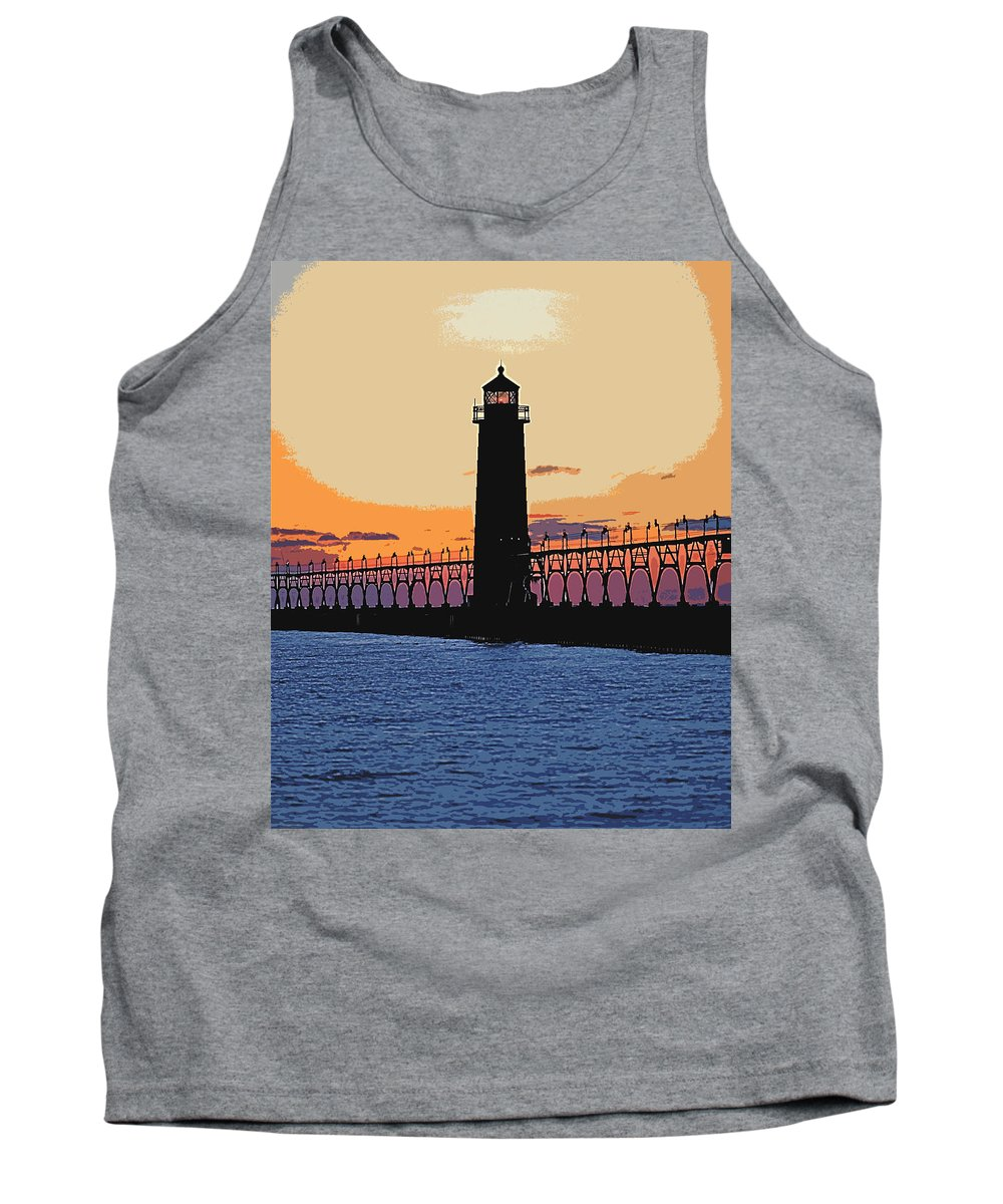 Light House Tank Top featuring the photograph Standing Sure by Robert Pearson