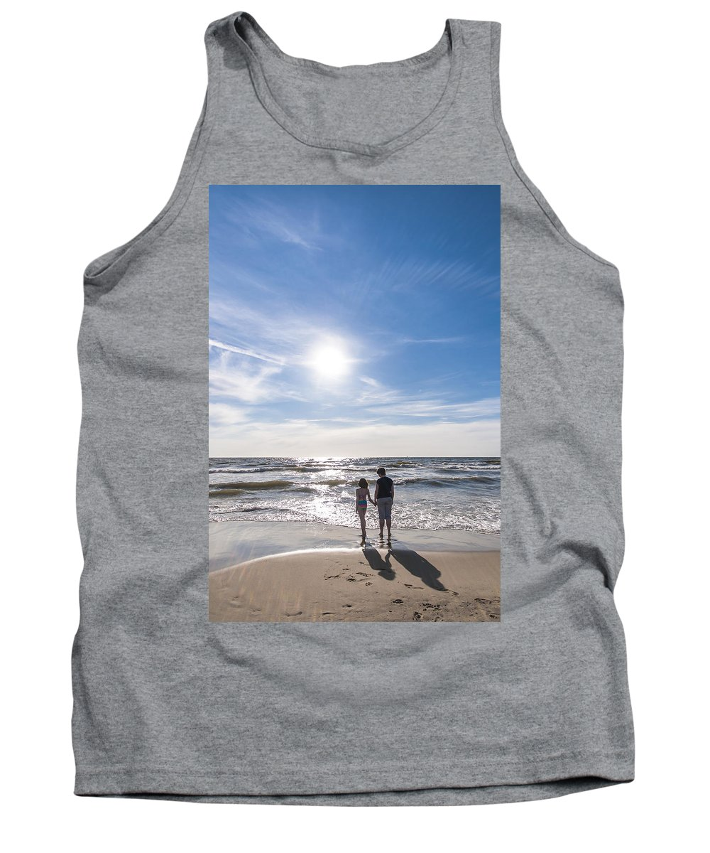 Sun Tank Top featuring the photograph Staring At The Sun by Alex Hiemstra