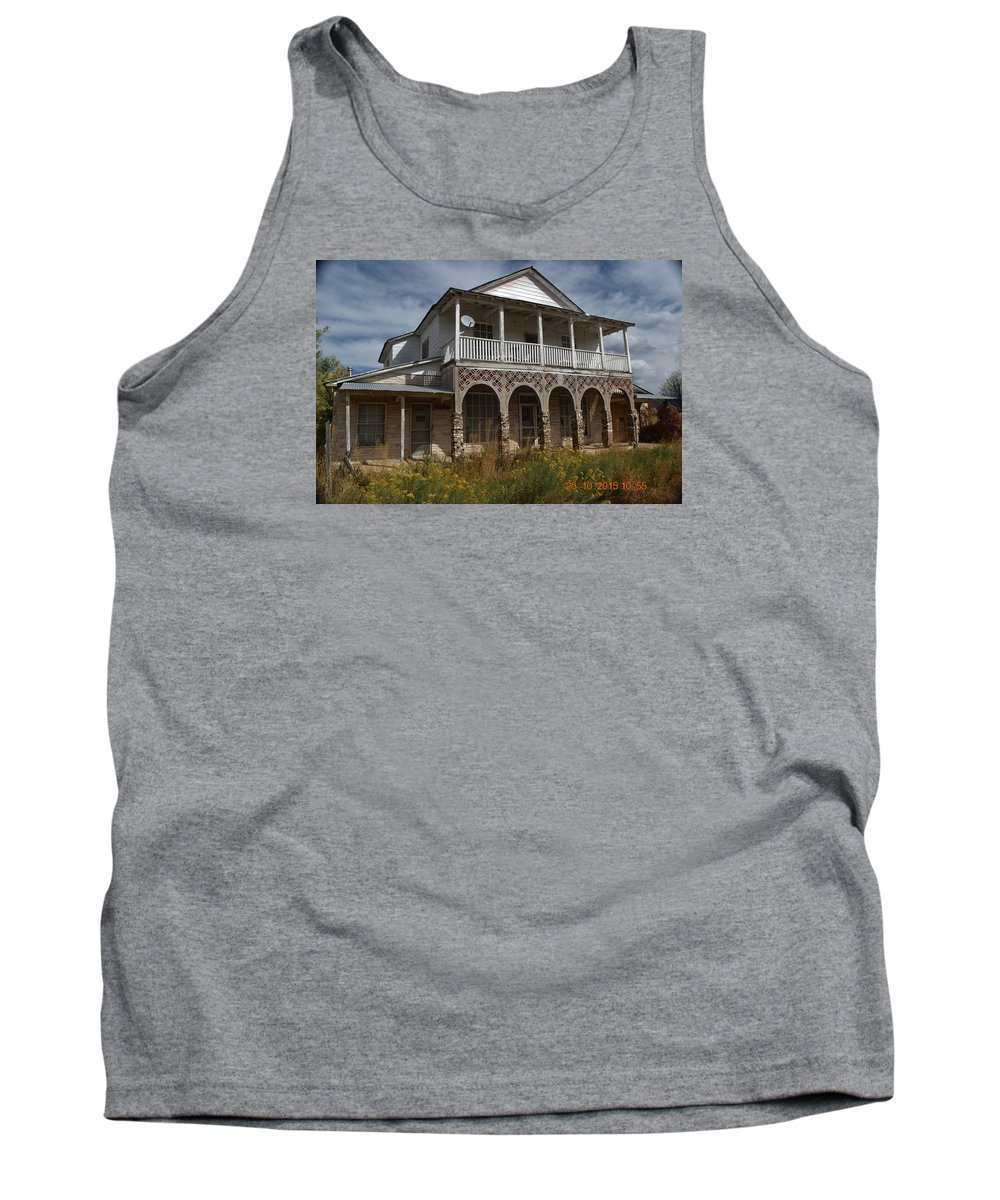 Tank Top featuring the photograph Stately Home by Curtis Willis