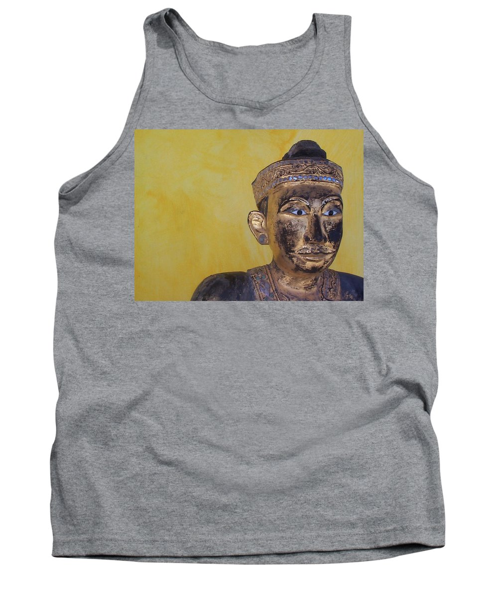 Charity Tank Top featuring the photograph Statue by Mary-Lee Sanders