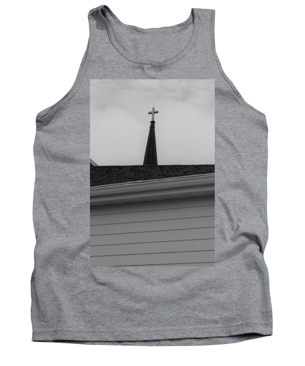 Tank Top featuring the photograph Steeple by John Bichler