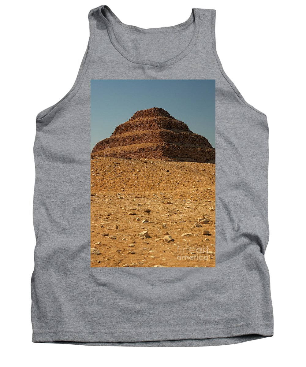 Africa Tank Top featuring the photograph Step Pyramid by Joe Ng