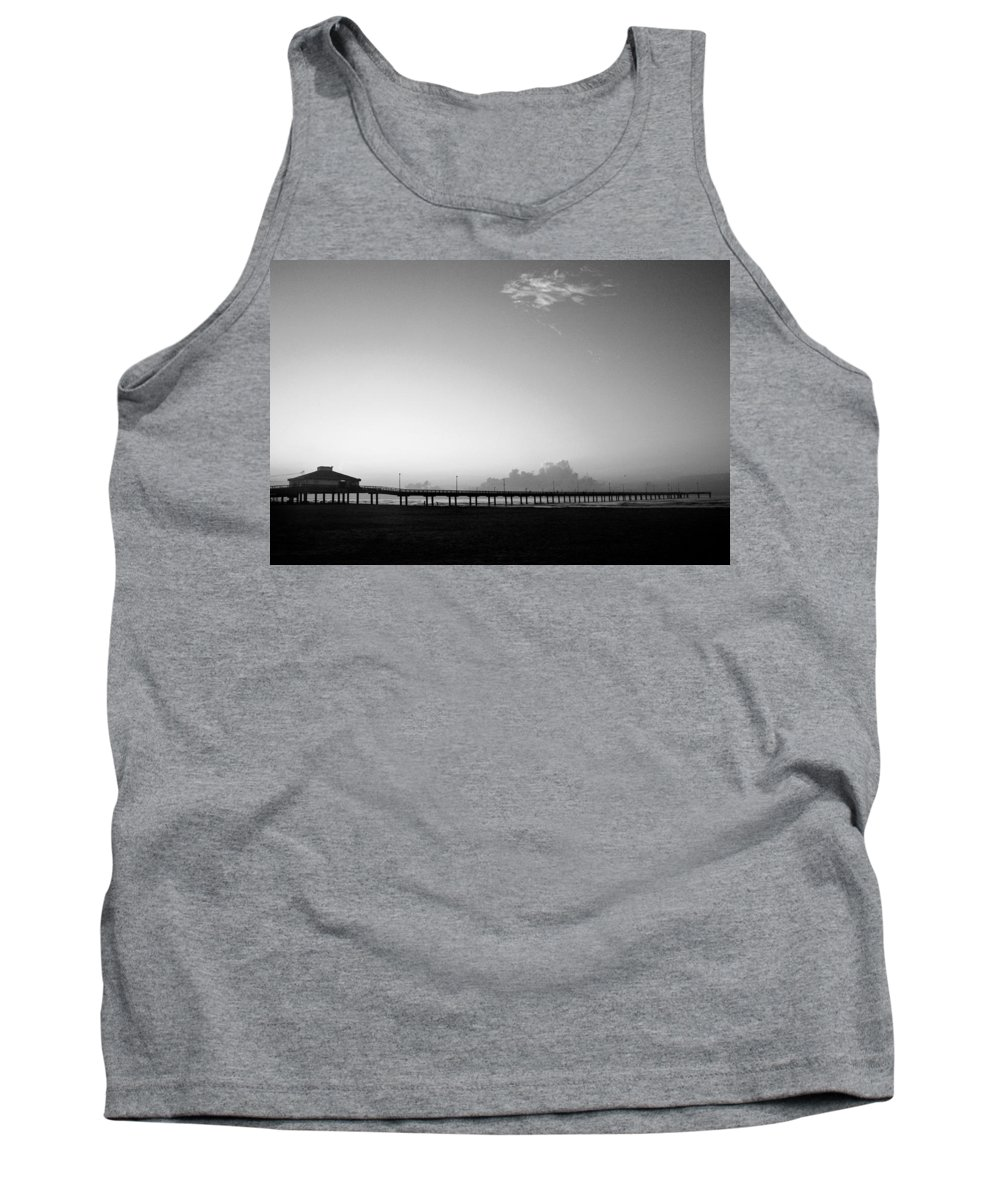 Sunrise Tank Top featuring the photograph Stillness Befor Dawn by Marilyn Hunt
