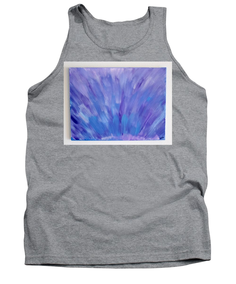 Storm Tank Top featuring the painting Storm by Jacie Garcia