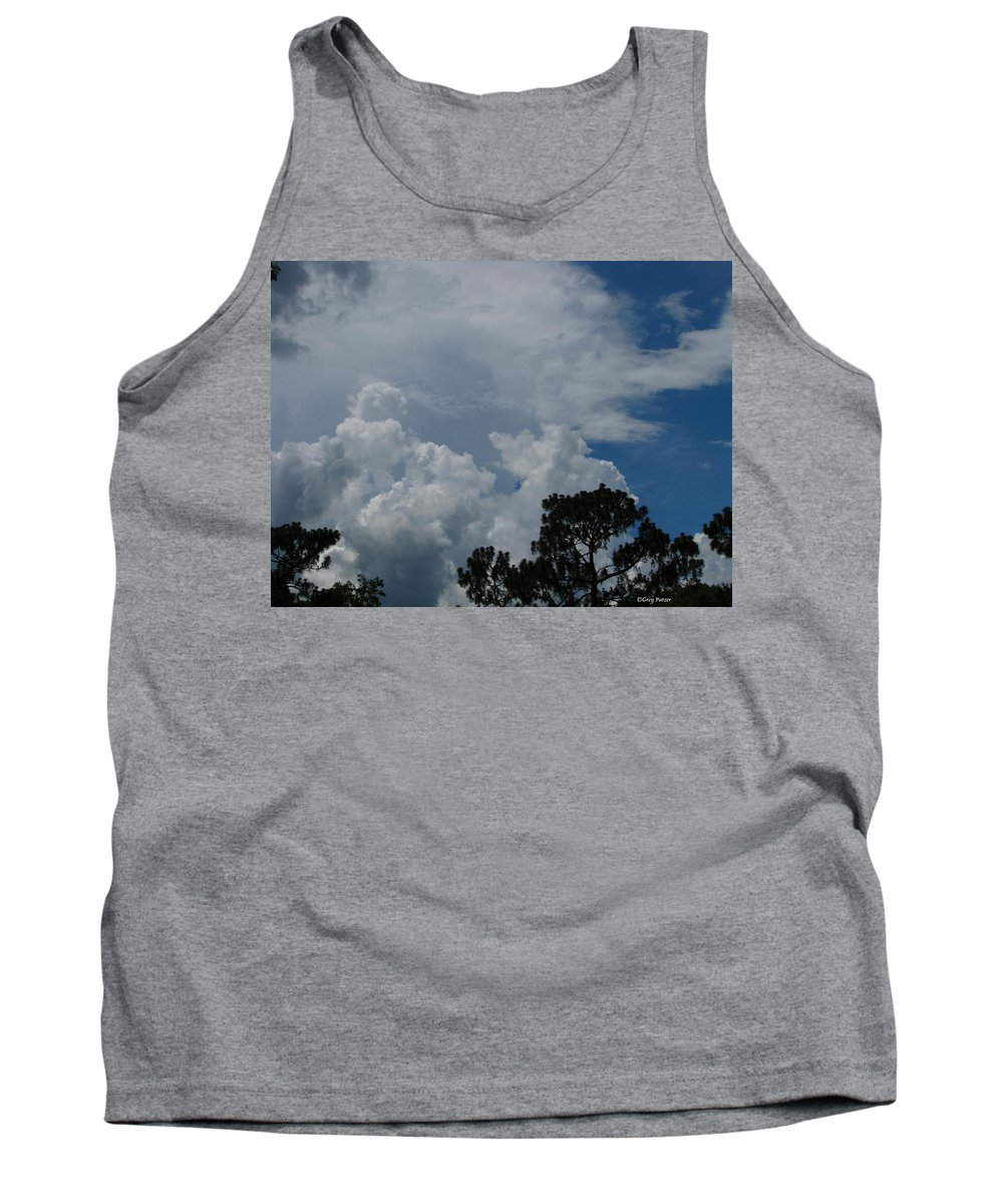 Patzer Tank Top featuring the photograph Storm Moving In by Greg Patzer