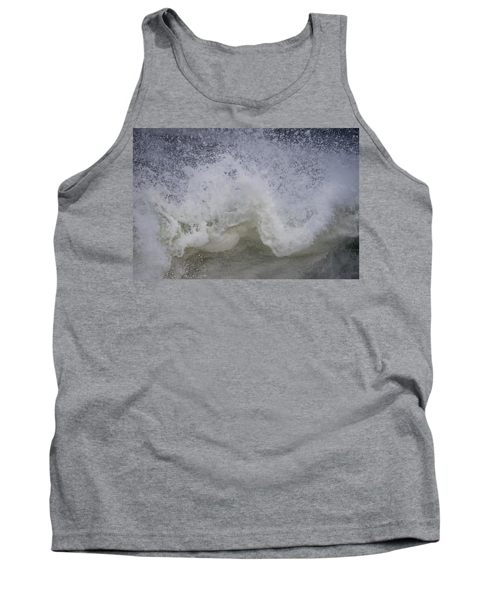 Coast Tank Top featuring the photograph Stormy Surf by Robert Potts