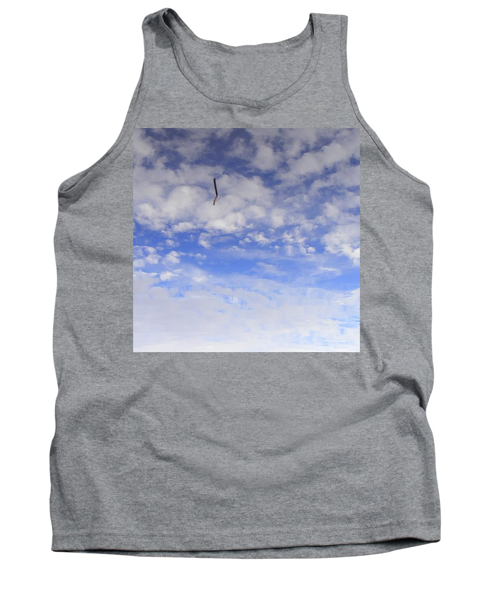 Sky Tank Top featuring the photograph Stuck In The Clouds by Ed Smith