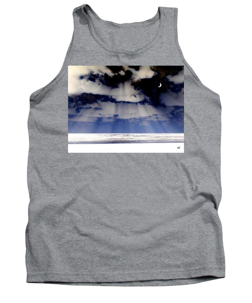 Surreal Tank Top featuring the digital art Sub Zero by Will Borden