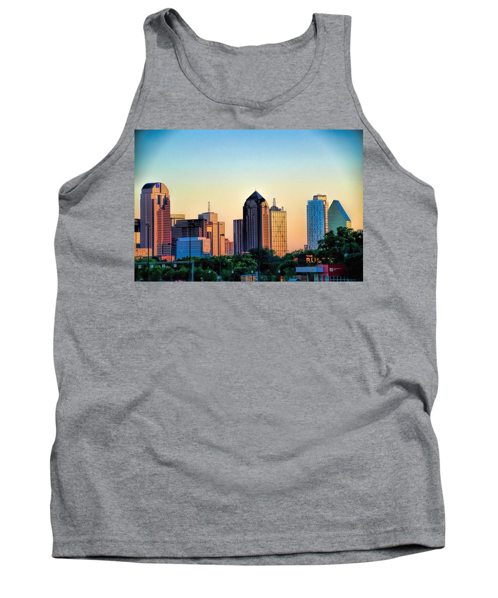 Sunset Tank Top featuring the photograph Sugar's Choice by Diana Mary Sharpton