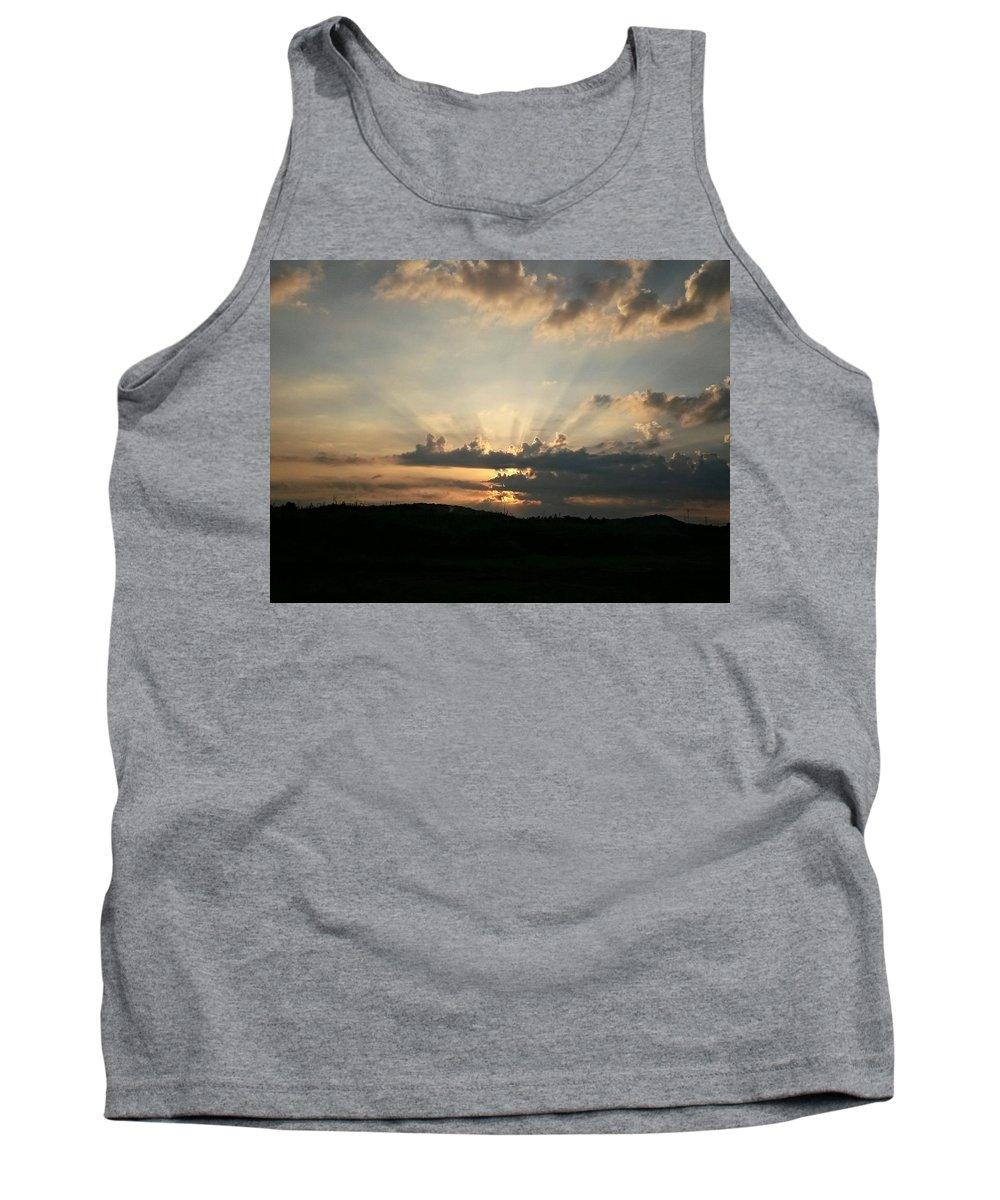 Summer Sunrise Spectacular Tank Top featuring the photograph Summer Sunrise Spectacular by Maria Urso