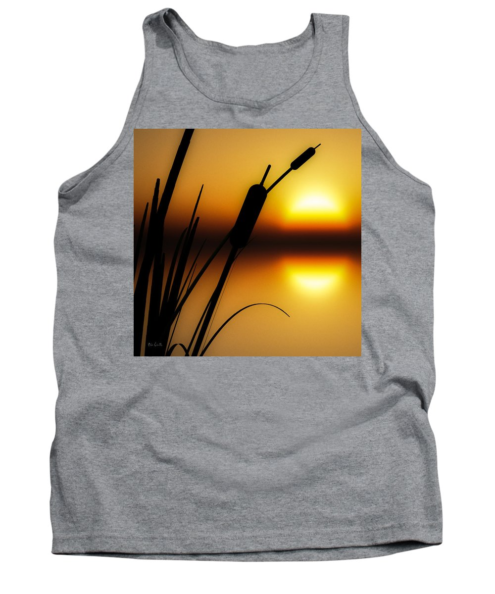 Tranquil Tank Top featuring the photograph Summertime Whispers by Bob Orsillo