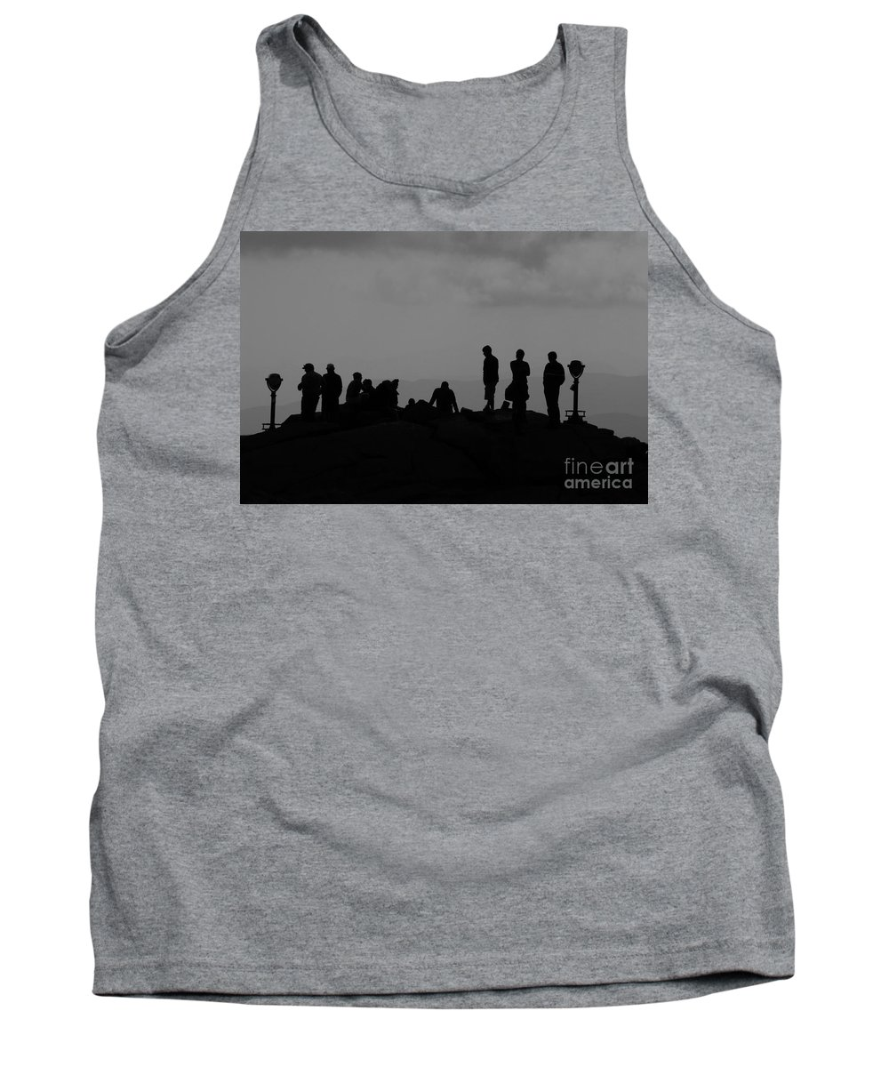 Summit Tank Top featuring the photograph Summit People by David Lee Thompson